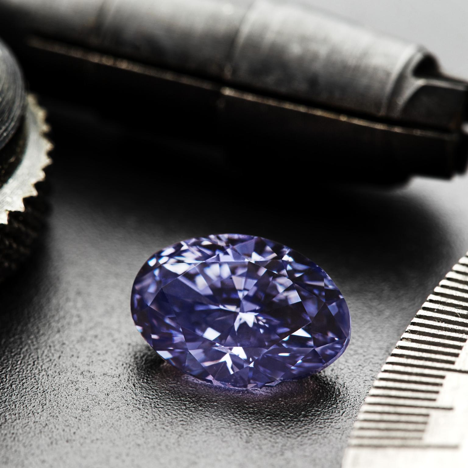 The Argyle Violet diamond