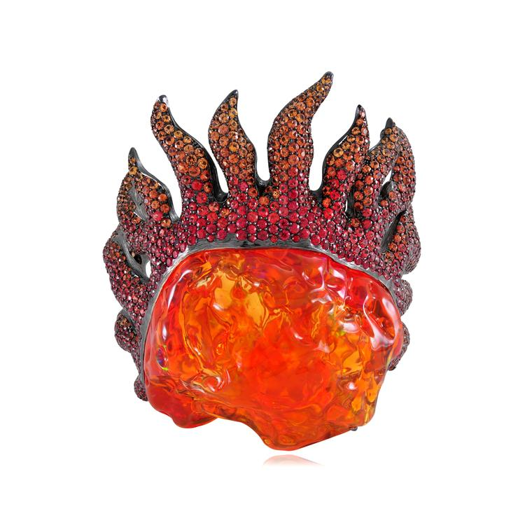Mexican fire opals: the red hot gemstone