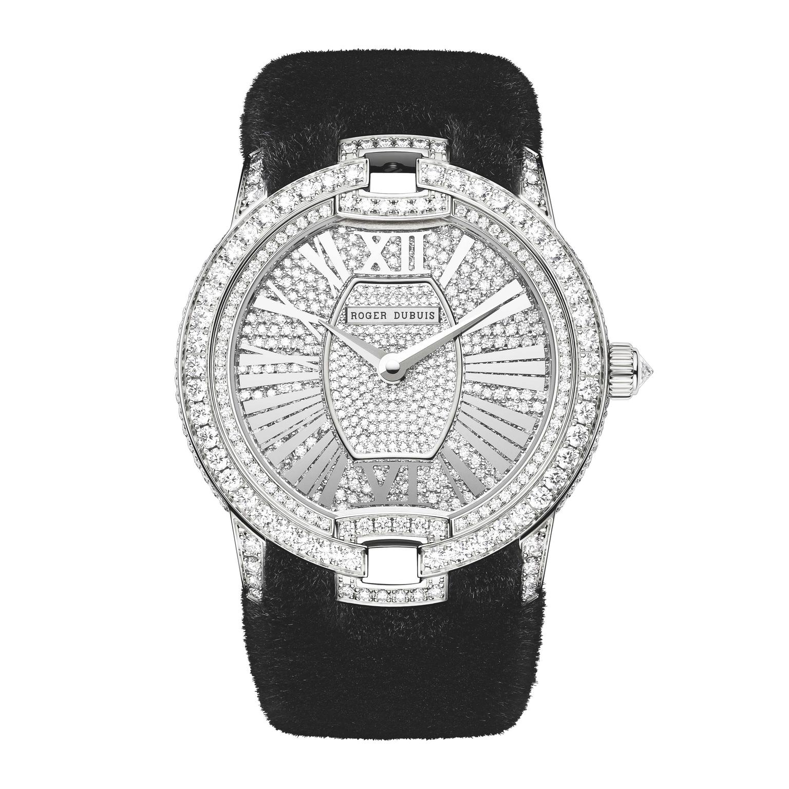 Roger-Dubuis-mink-fur-watch
