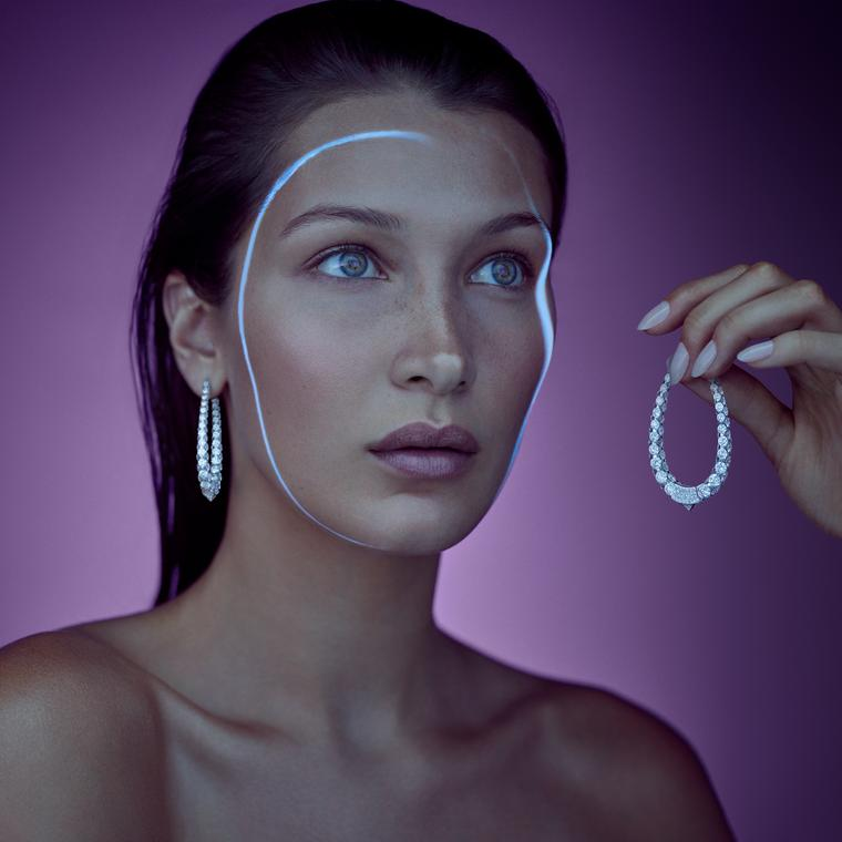 Bella Hadid for Boghossian