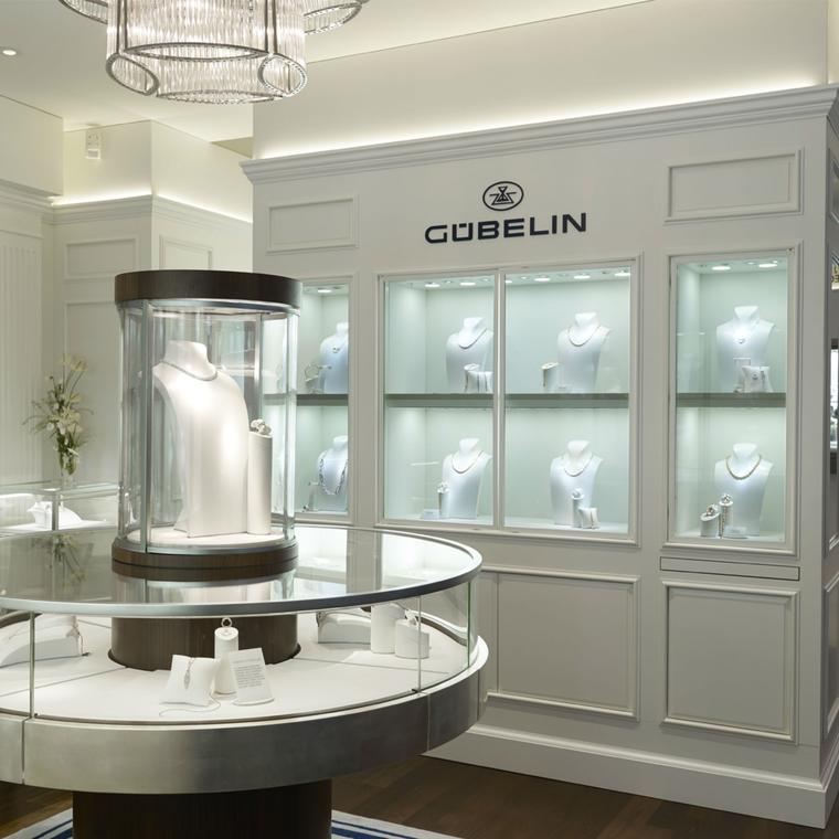 Gubelin boutique in Geneva
