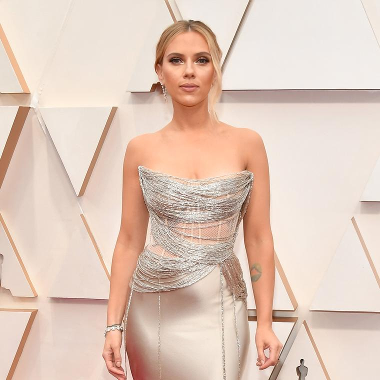 Scarlett Johansson in Forevermark at the 2020 Academy Awards