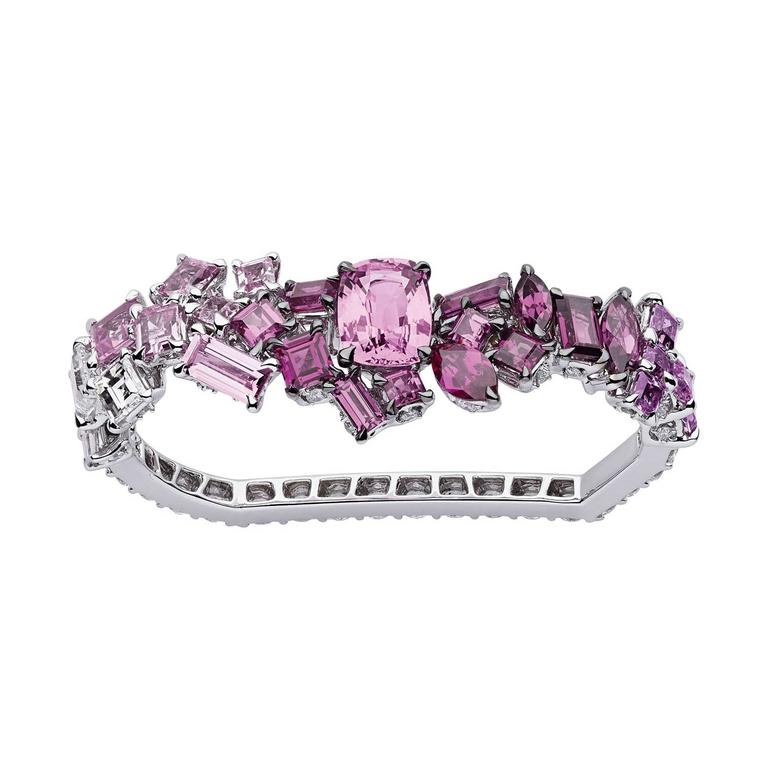 Dior Rose Dragee double ring