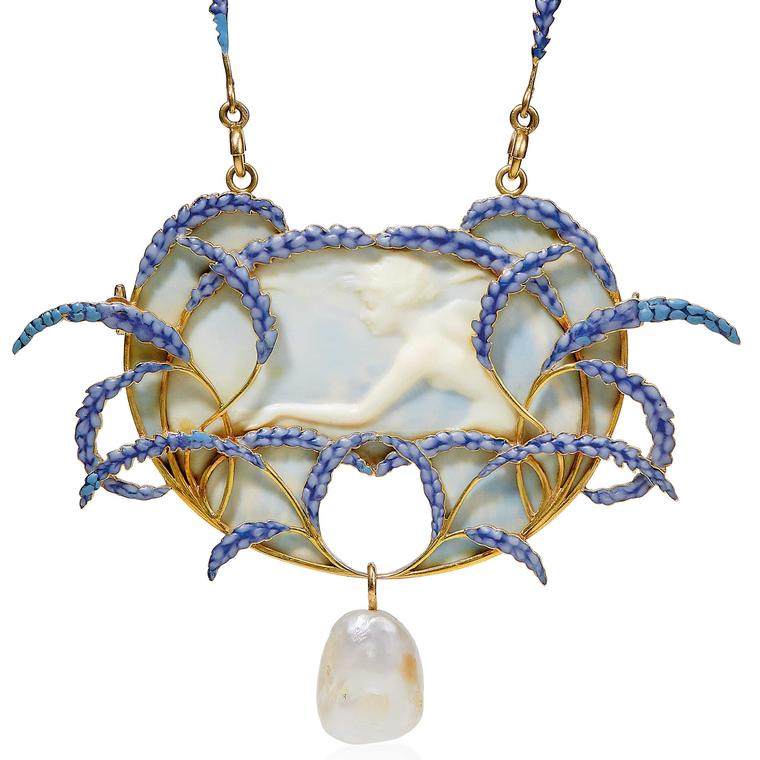 Christies auction Lot 32 Rene Lalique galalith pendant 1905
