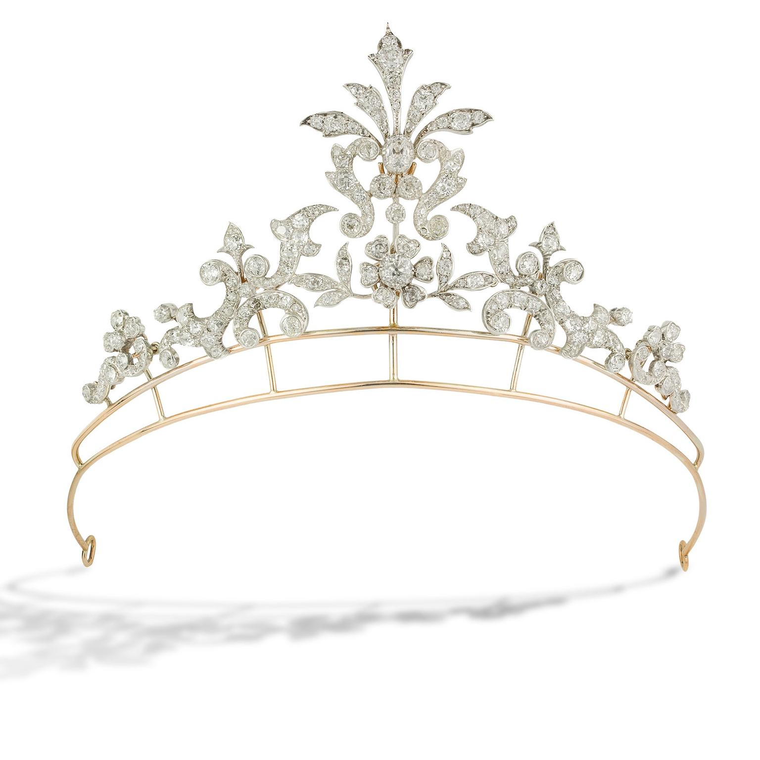 Bentley & Skinner Belle Epoque antique tiara from 1900