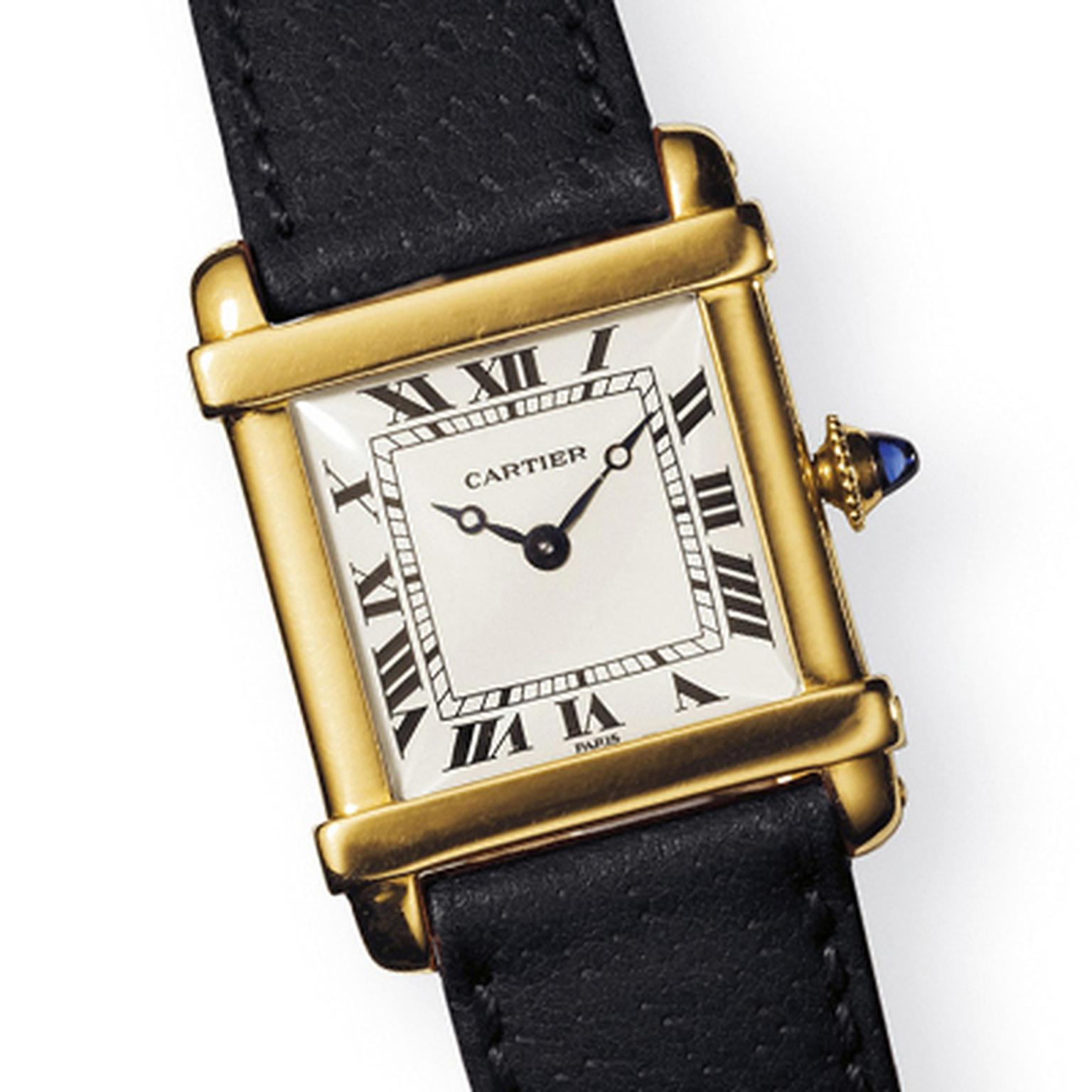 Cartier Tank Chinoise watch 1921