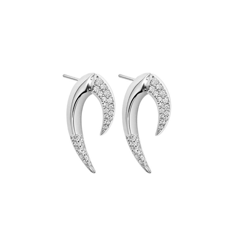 Shaun Leane Talon diamond earrings