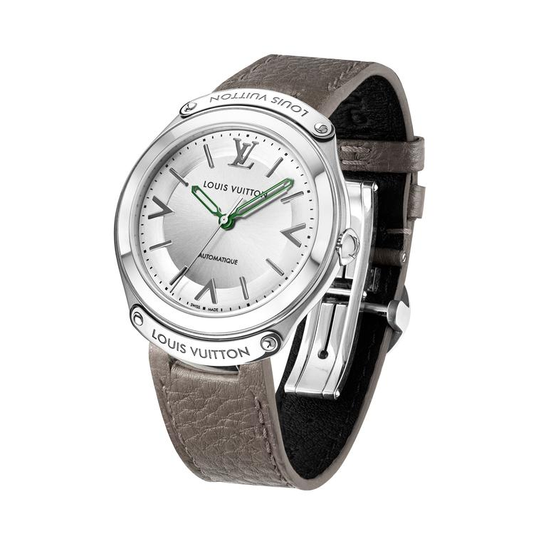 Louis Vuitton Fifty Five 36mm grey strap