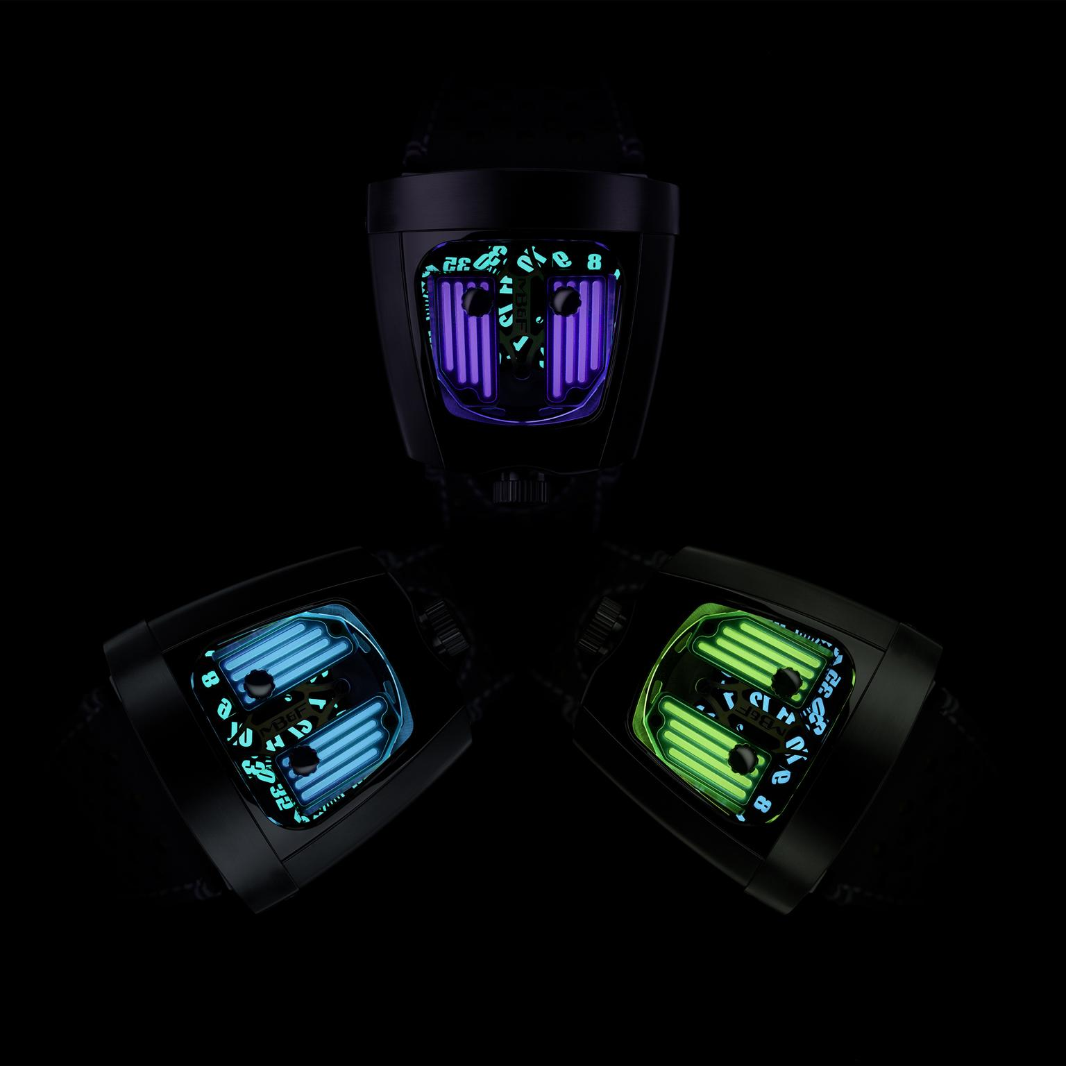 MB&F HMX Black Badger watch