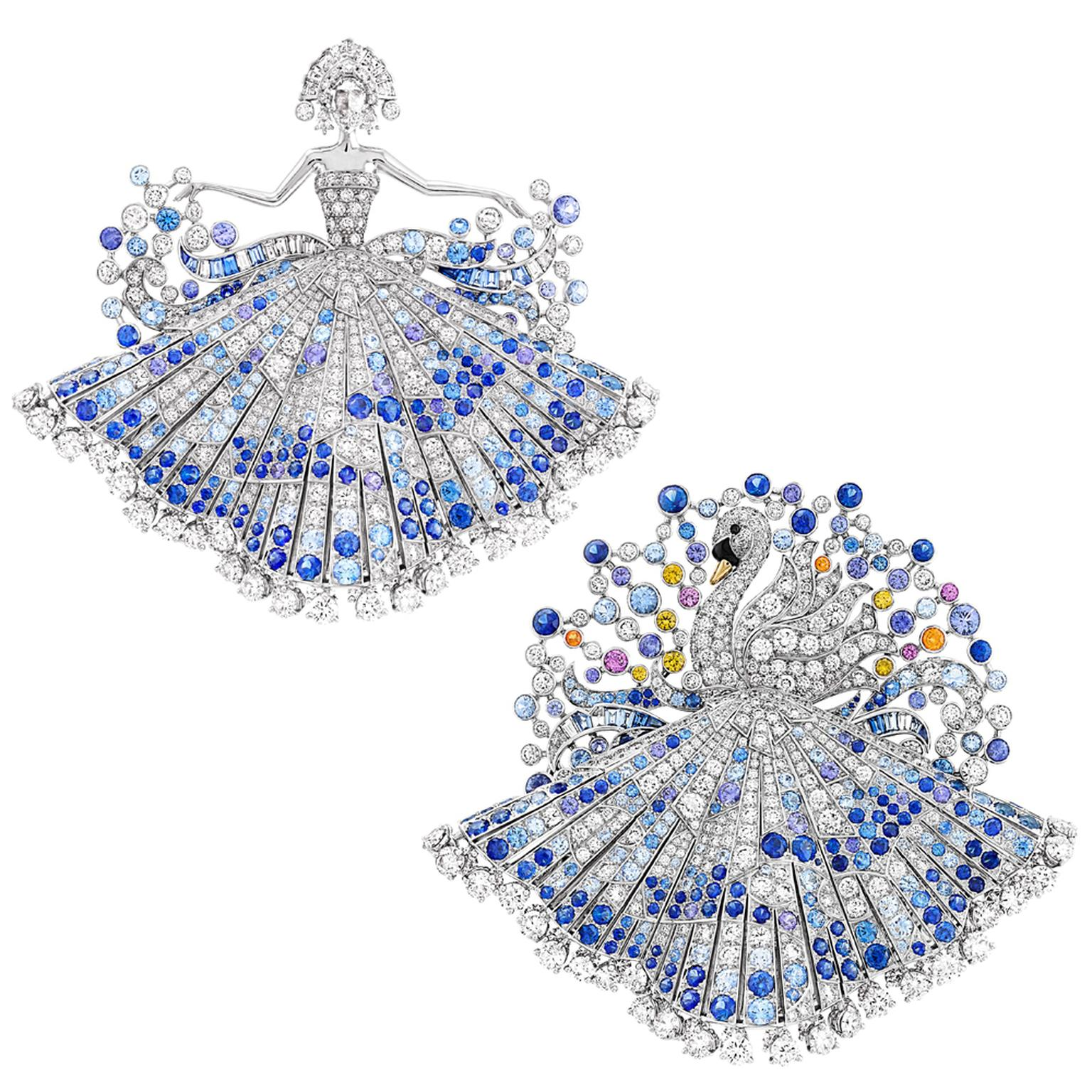 Van Cleef & Arpels Le Secret Metamorphose du Cygne brooch