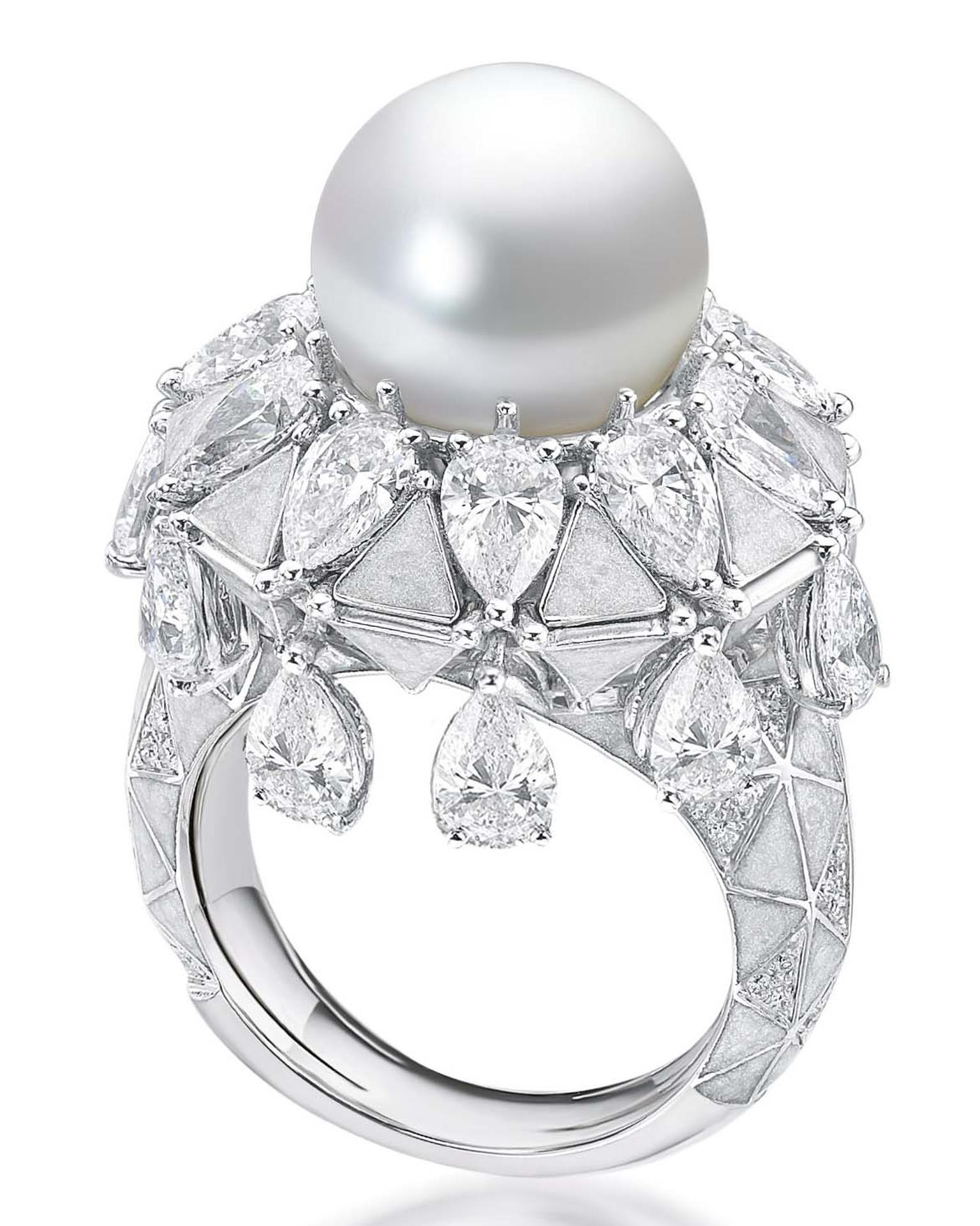 Pearl Ring from Sarah Ho