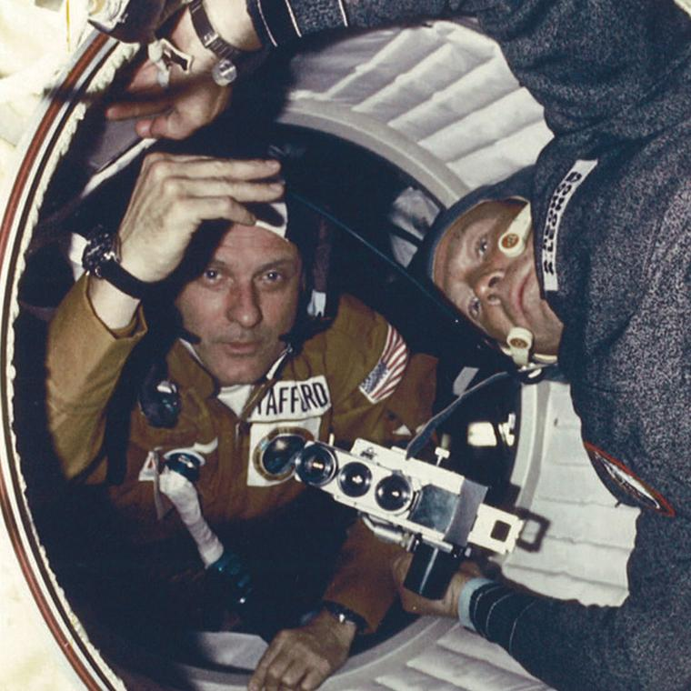 Apollo-Soyuz docking mission of 1975
