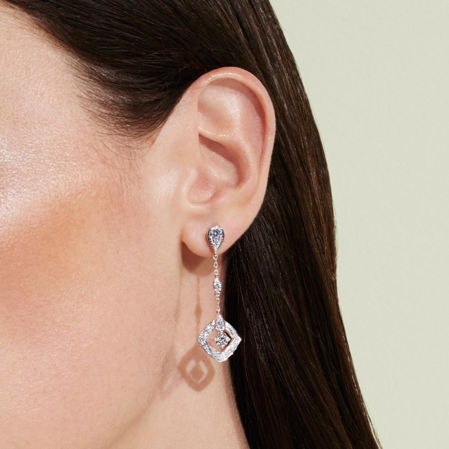 Chaumet Josephine Diptyque diamond earrings