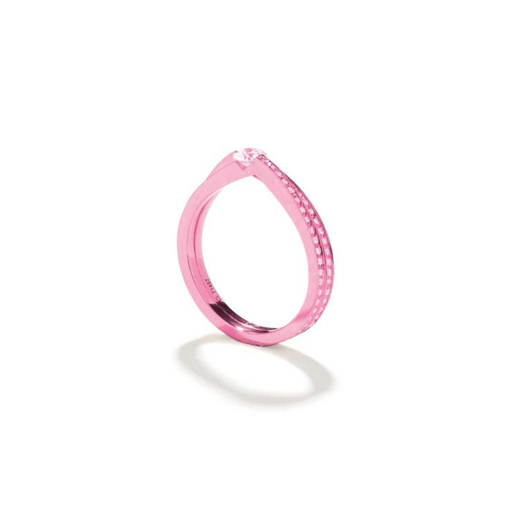 Repossi fuchsia ring