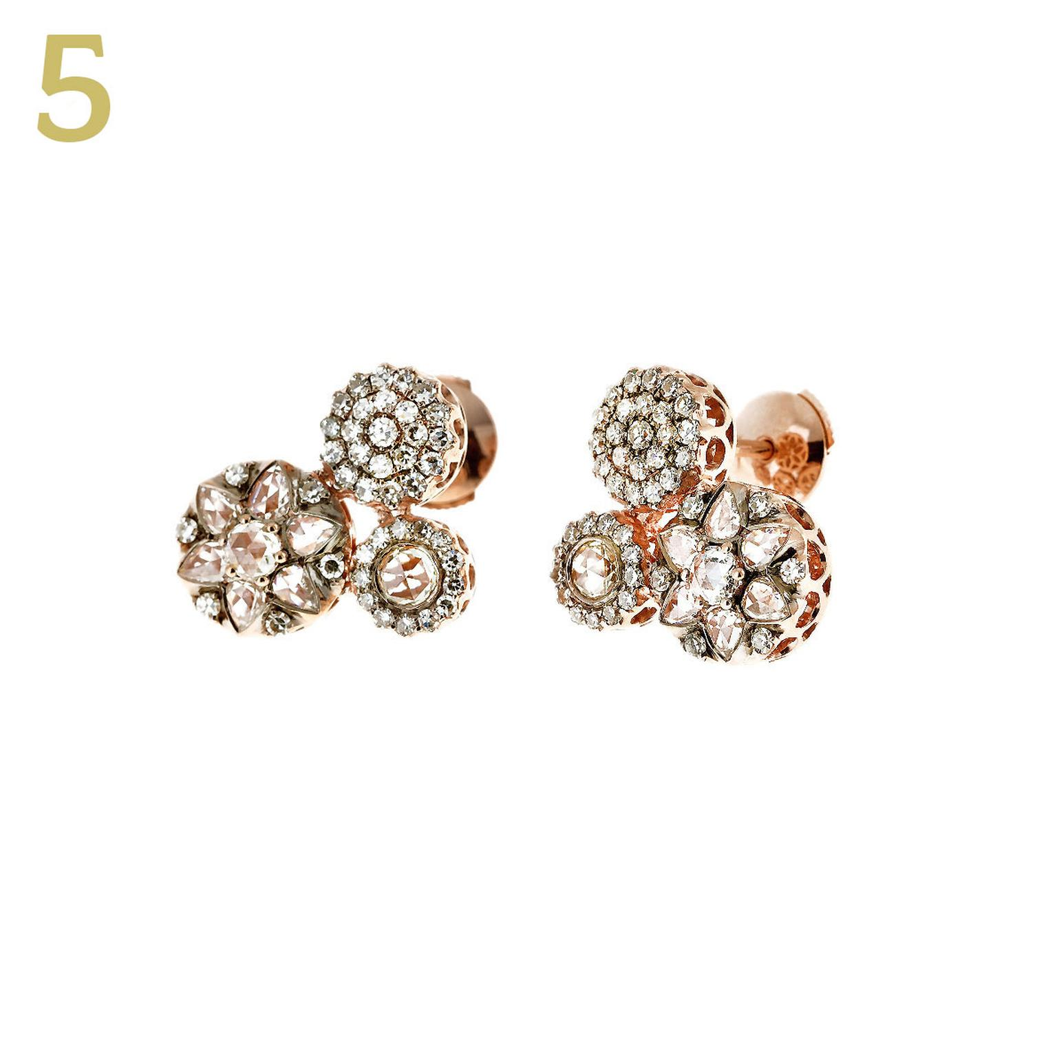 Selim Mouzannar diamond earrings