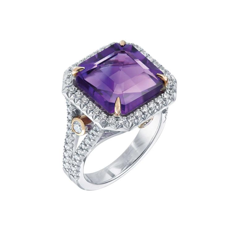 Fabergé Devotion amethyst ring