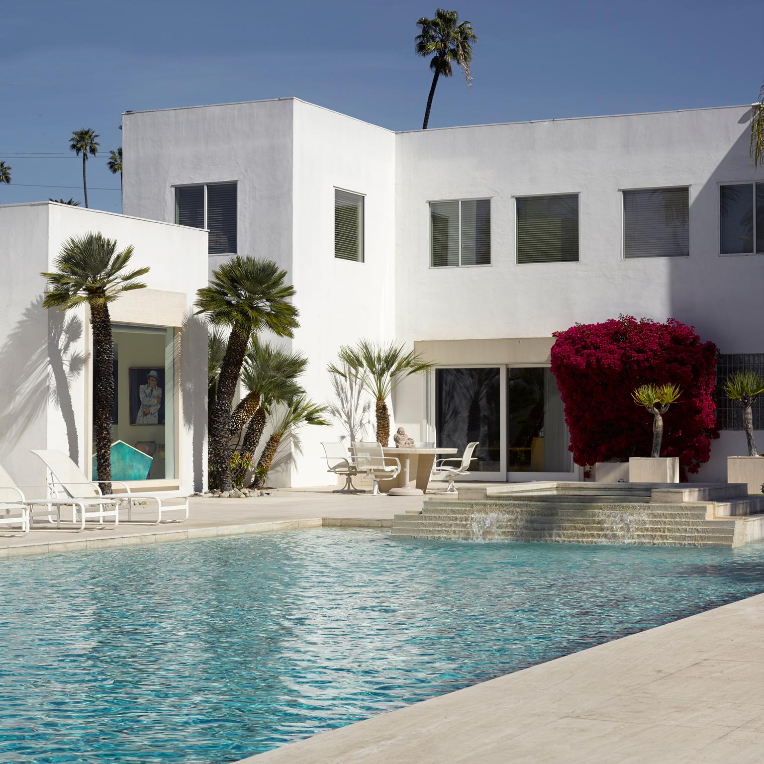 Jackie Collins' Beverly Hills mansion