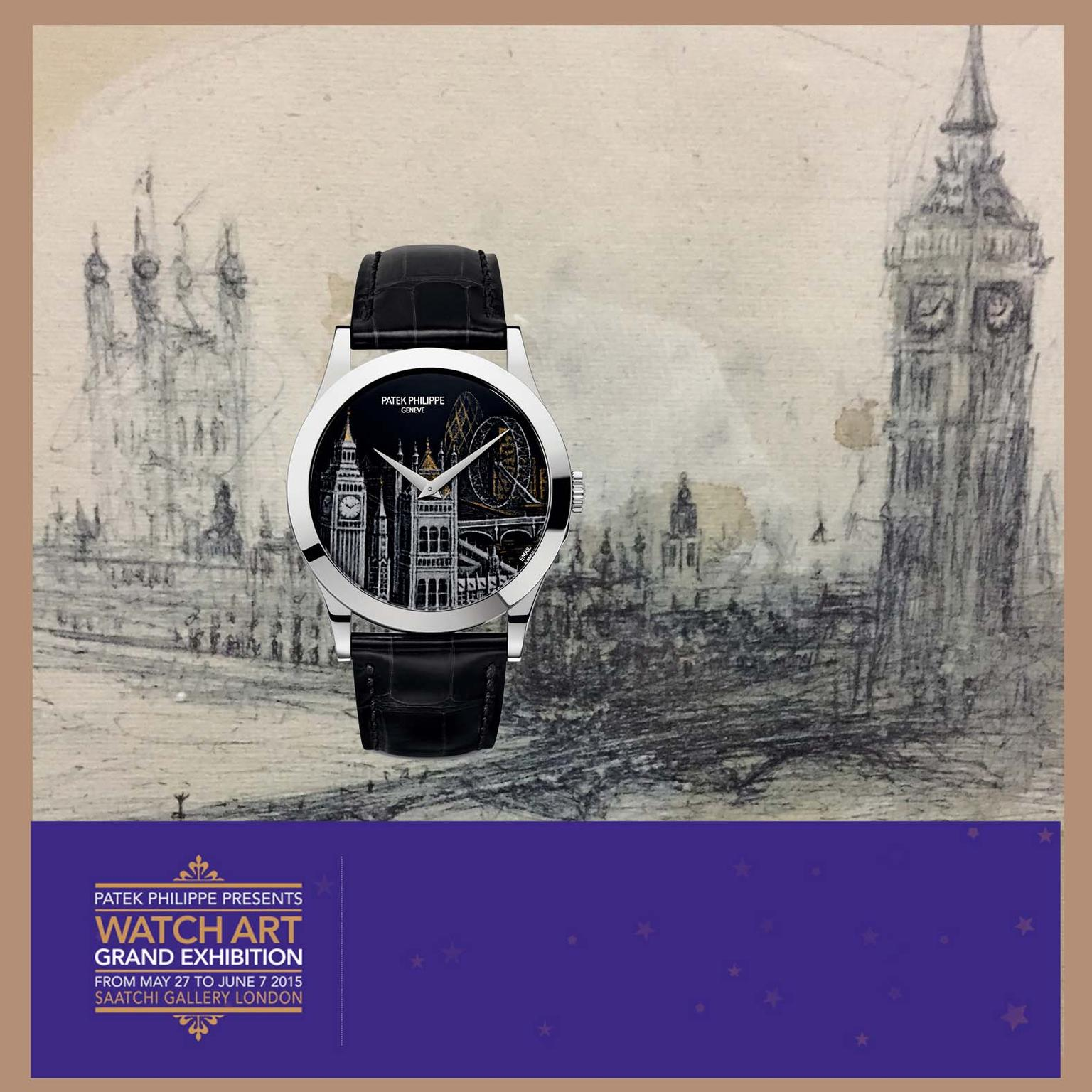 Patek Philippe Grand Exhibition London square cover photo