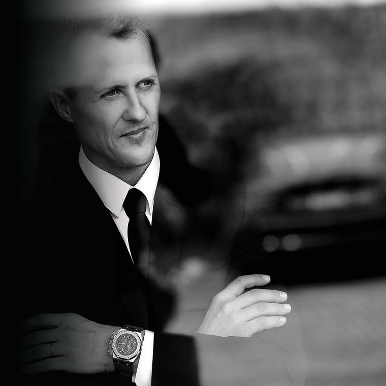 Two legends, one watch: Audemars Piguet teams up with Michael Schumacher
