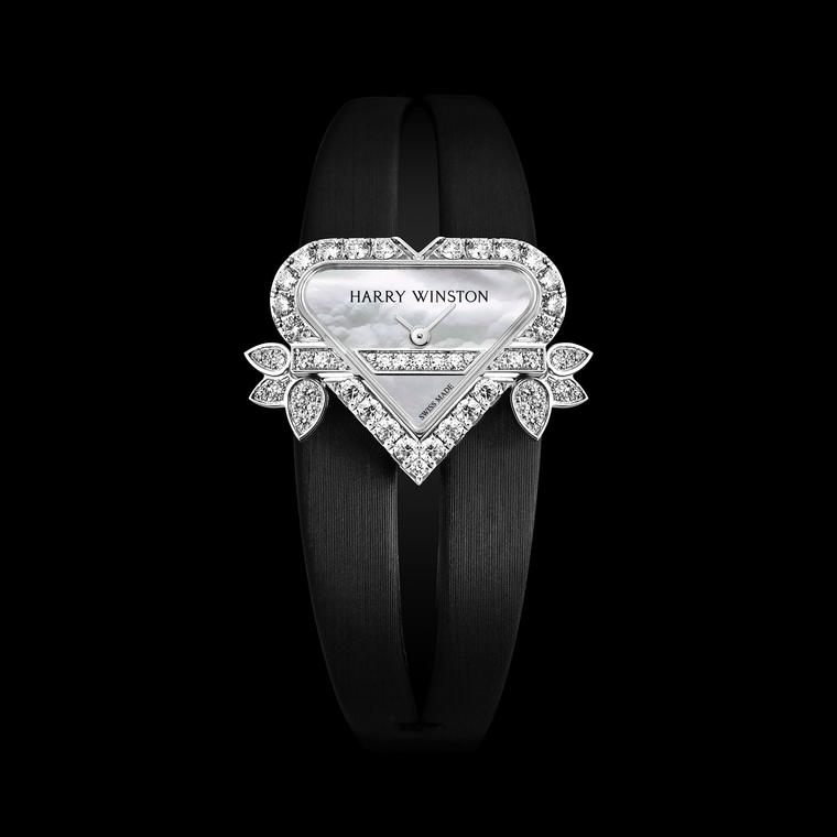 Harry Winston's Rosebud pendant watch