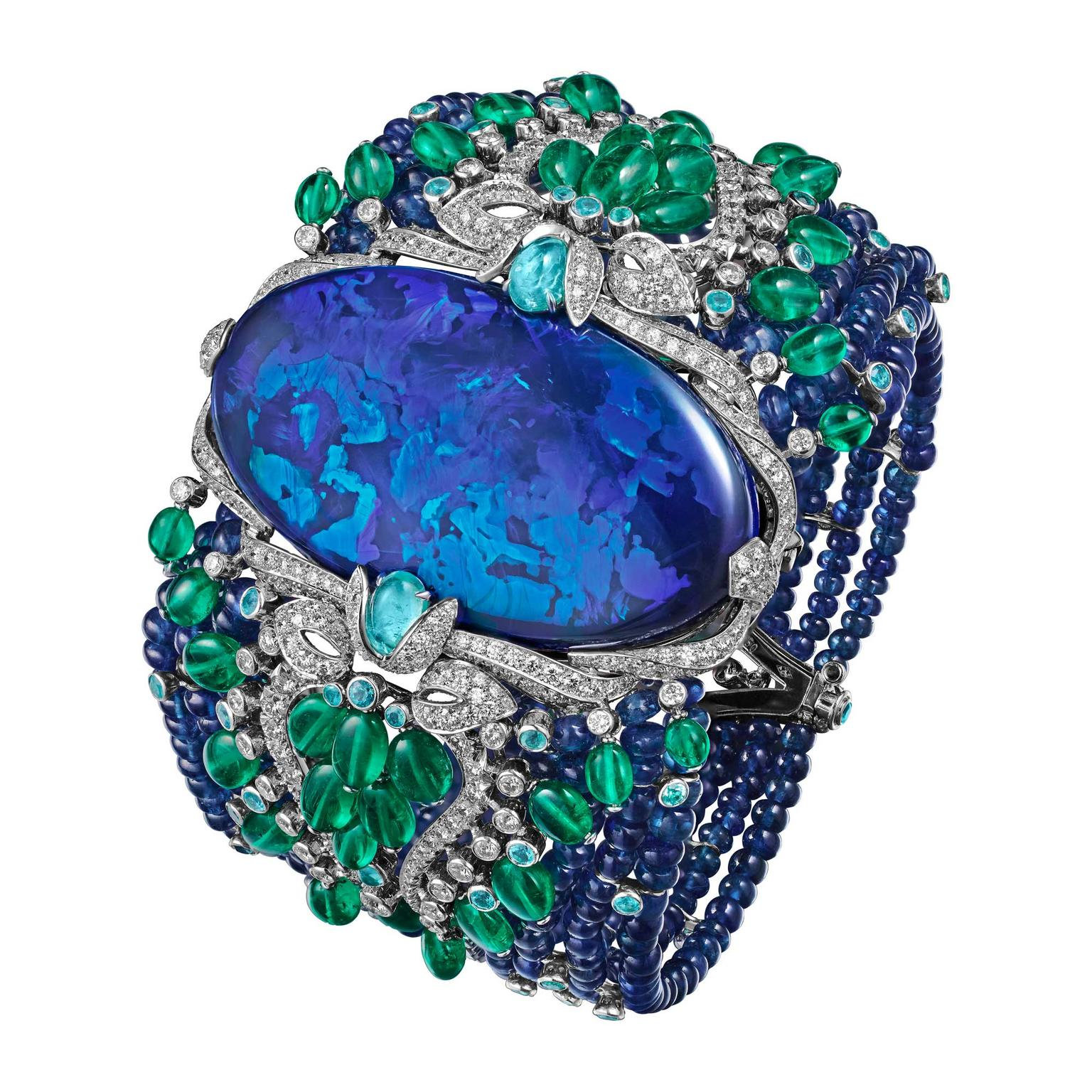 Cartier Étourdissant Lagon bracelet with black opal