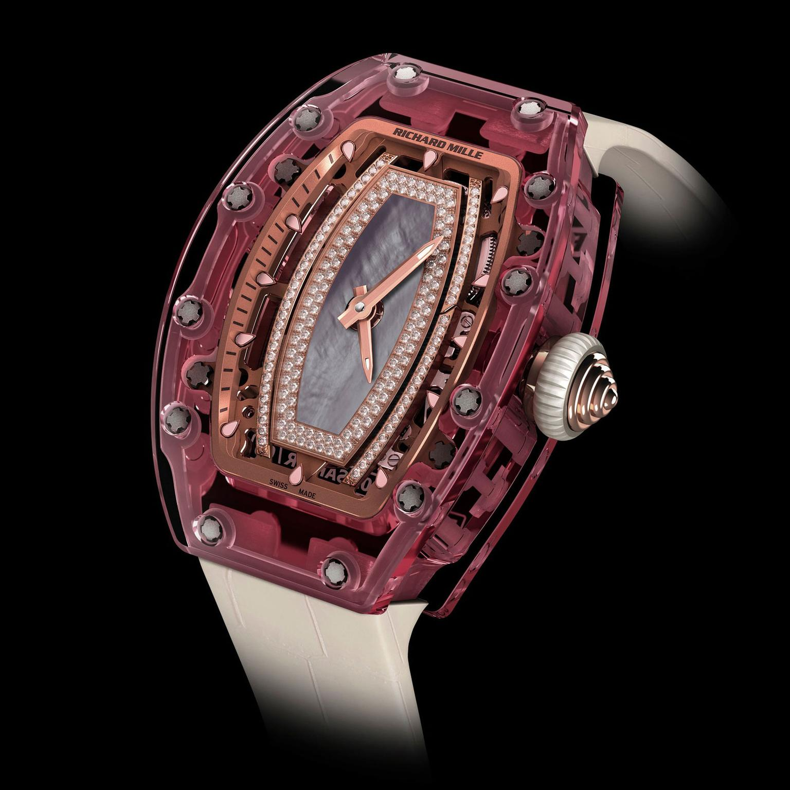 Richard Mille RM 07-02 Pink Lady Sapphire watch