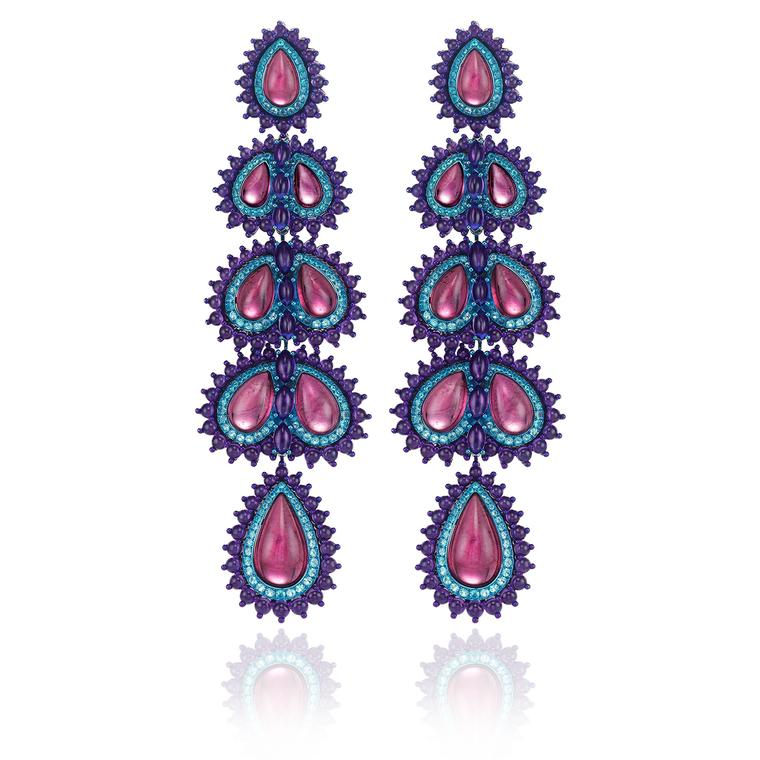 Chopard Red Carpet collection earrings