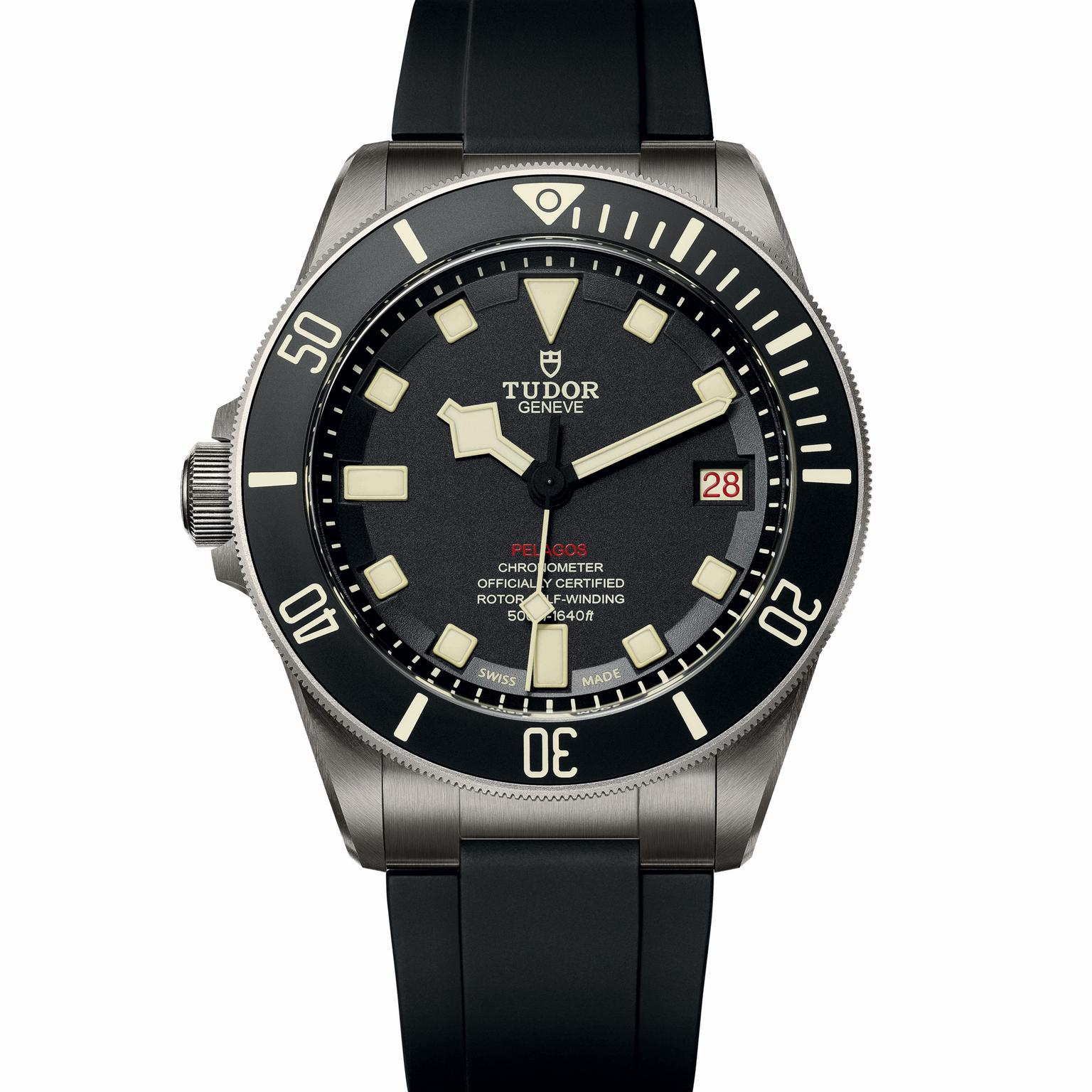 Pelagos lhd left handed dive watch tudor the jewellery - Tudor dive watch price ...