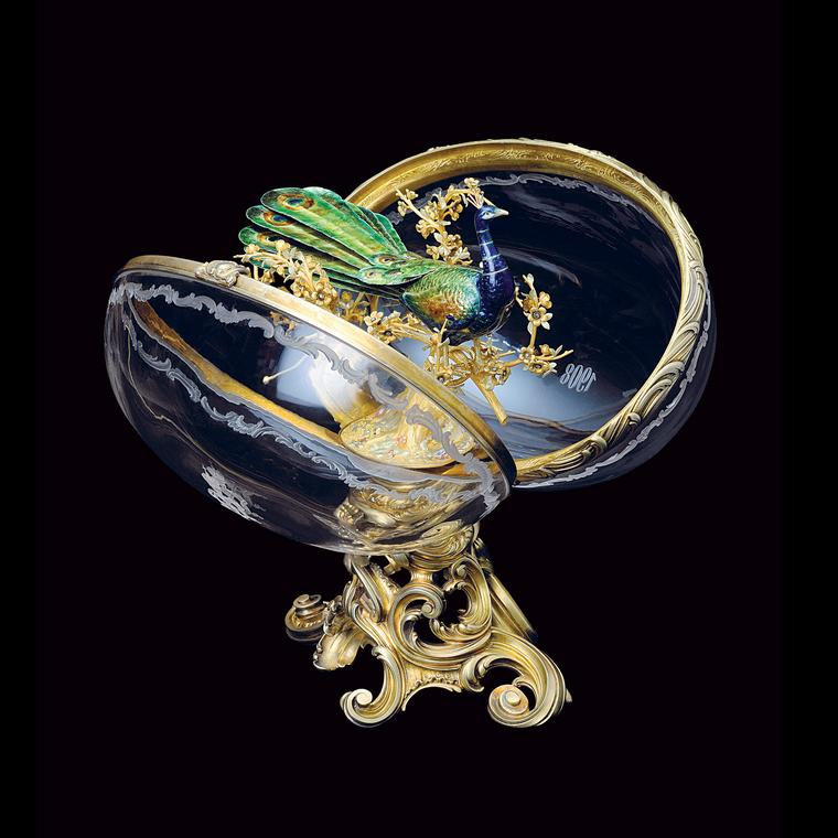 Faberge Peacock egg