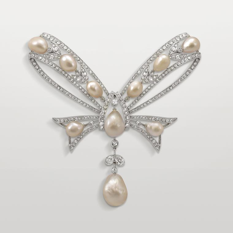 Chaumet Bowknot corsage brooch