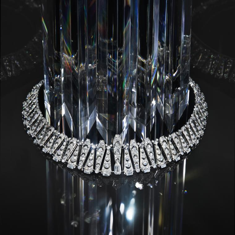 Magicien Incantation transformable diamond and Ceylon sapphire necklace