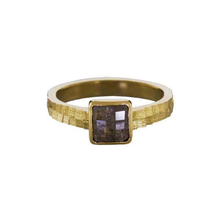 Jo Hayes Ward rose-cut diamond ring