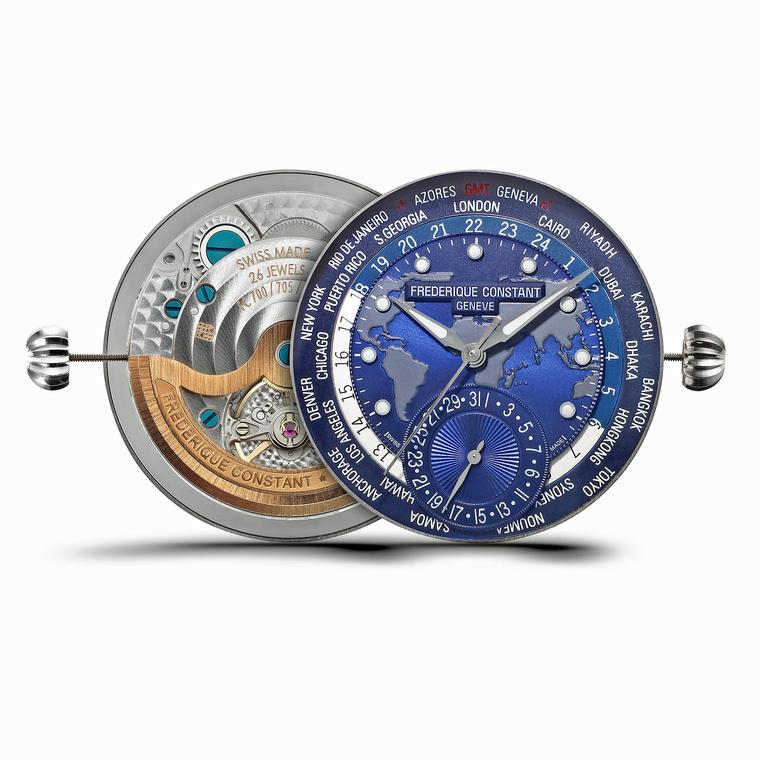 Frederique Constant Manufacture Worldtimer movement