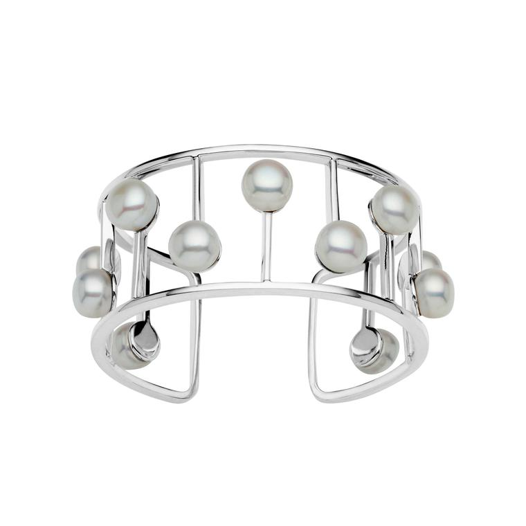 Jan Logan silver Odyssey bangle