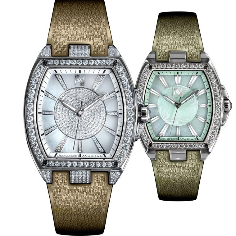 Avakian Lady Concept watches with interchangeable straps