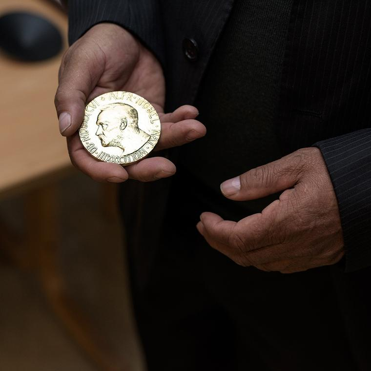 Nobel Peace Prize 2015 in Fairmined gold