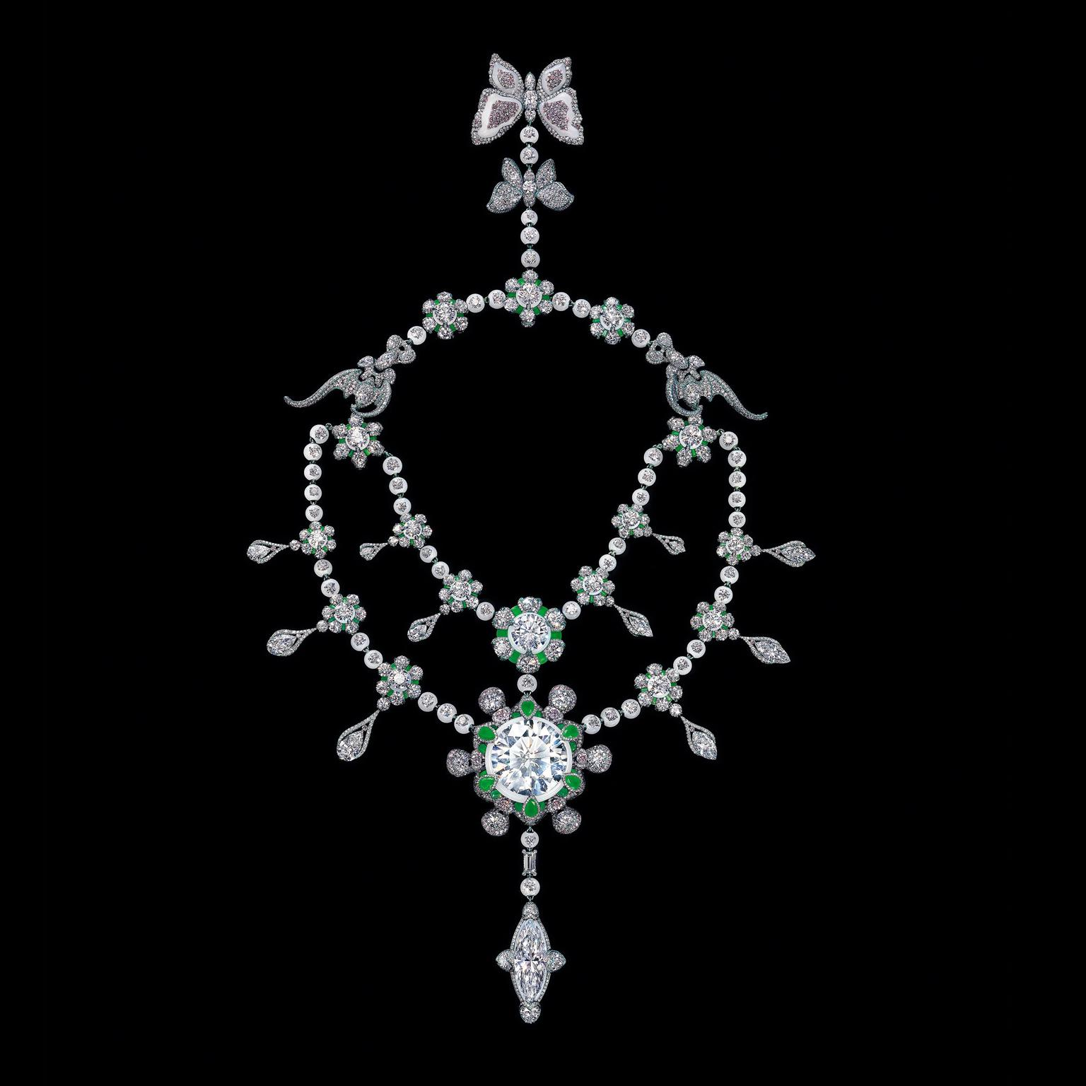 Wallace Chan A Heritage in Bloom diamond necklace