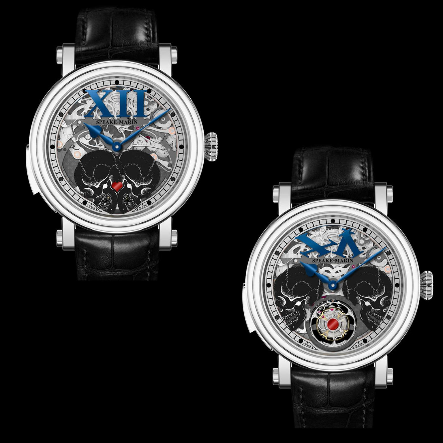 Speake-Marin Crazy Skulls watch