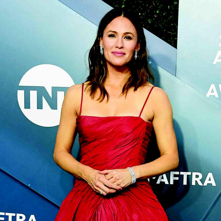 Jennifer Garner Harry Winston diamonds SAG Awards 2020