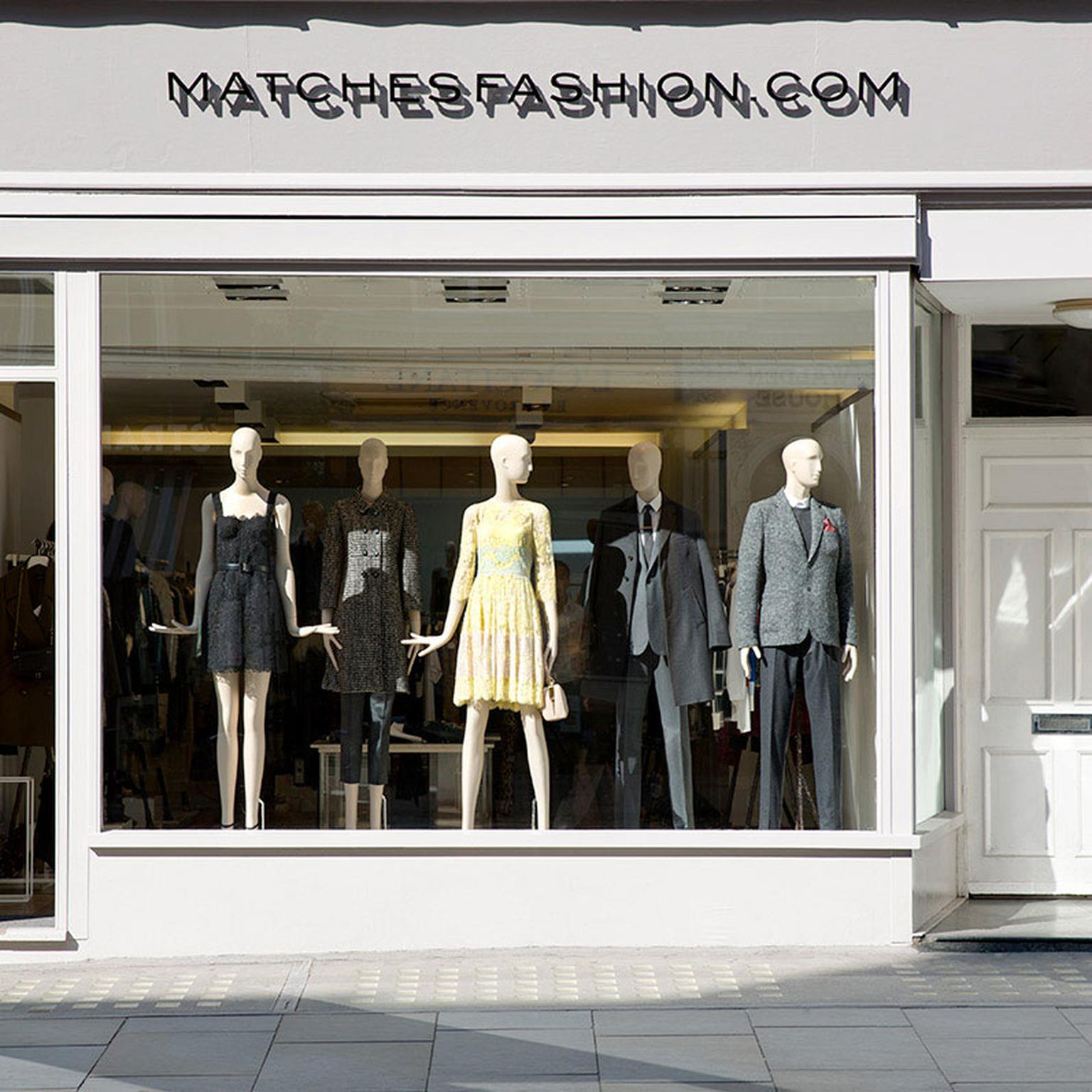 Matches Fashion boutique - exterior