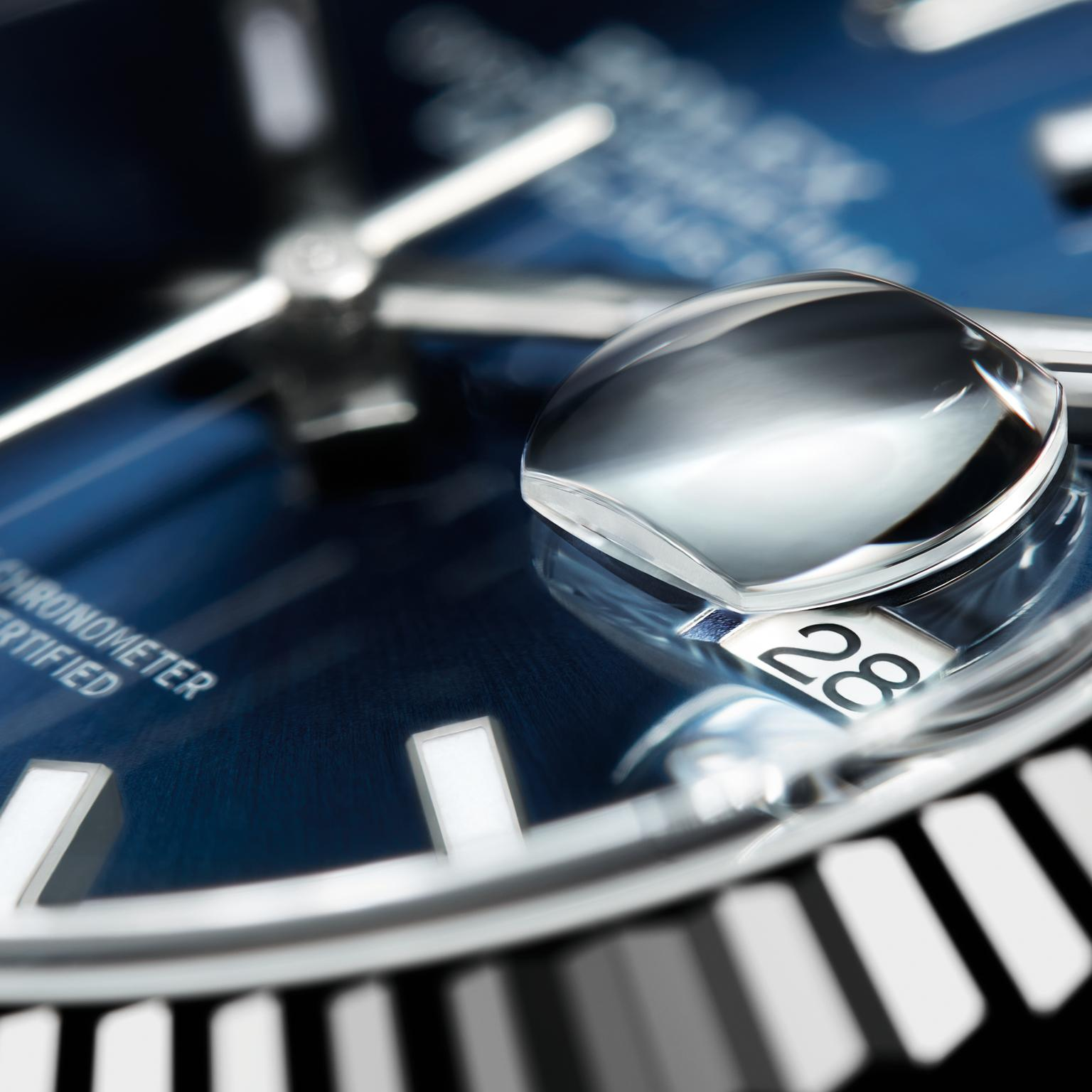 Rolex Datejust 41 watch in close up