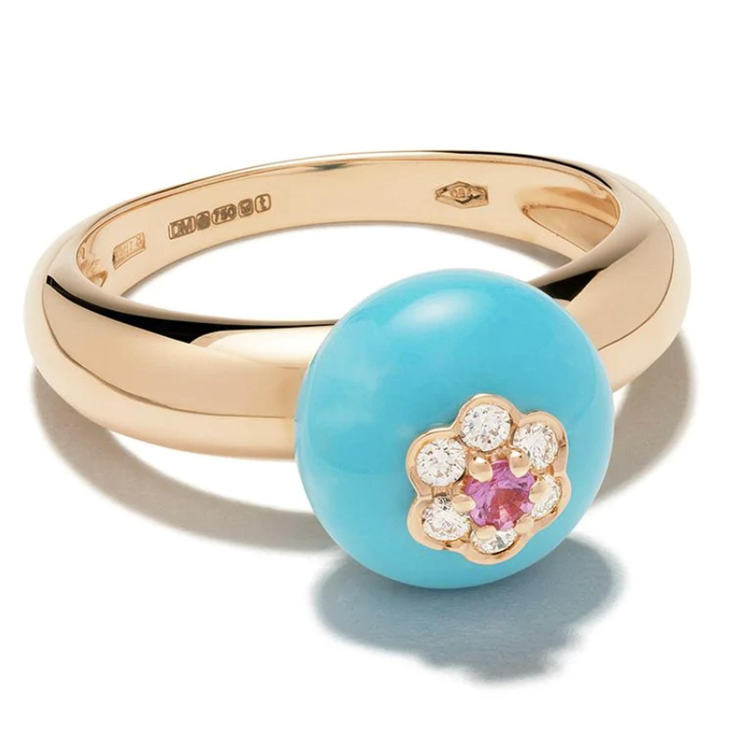 Turquoise ring by David Morris