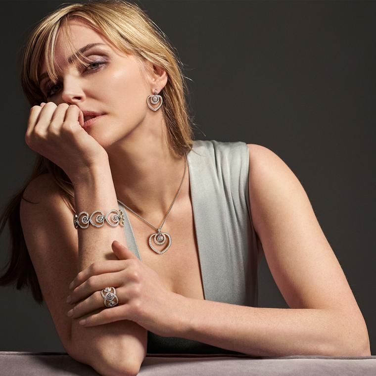 How to wear dress-down diamonds like Sophie Dahl