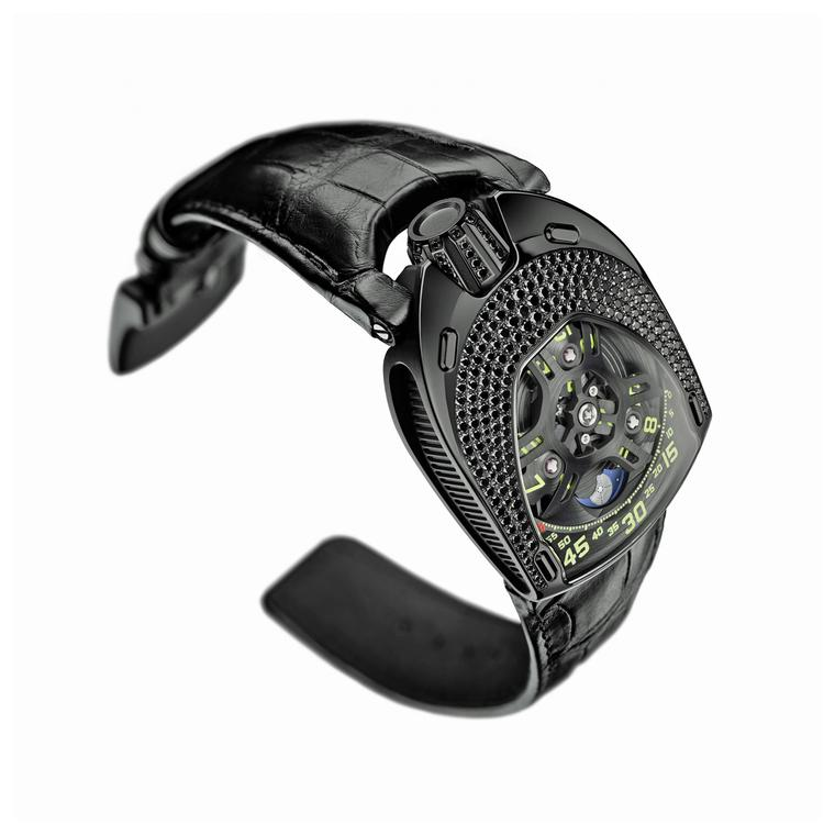 Urwerk UR-106 Black Lotus watch