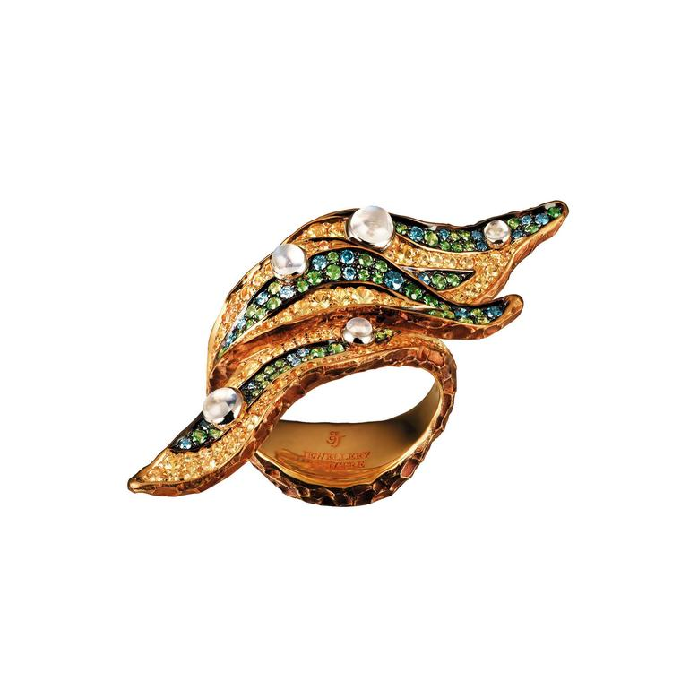 Jewellery Theatre Rainforest Ribbon ring