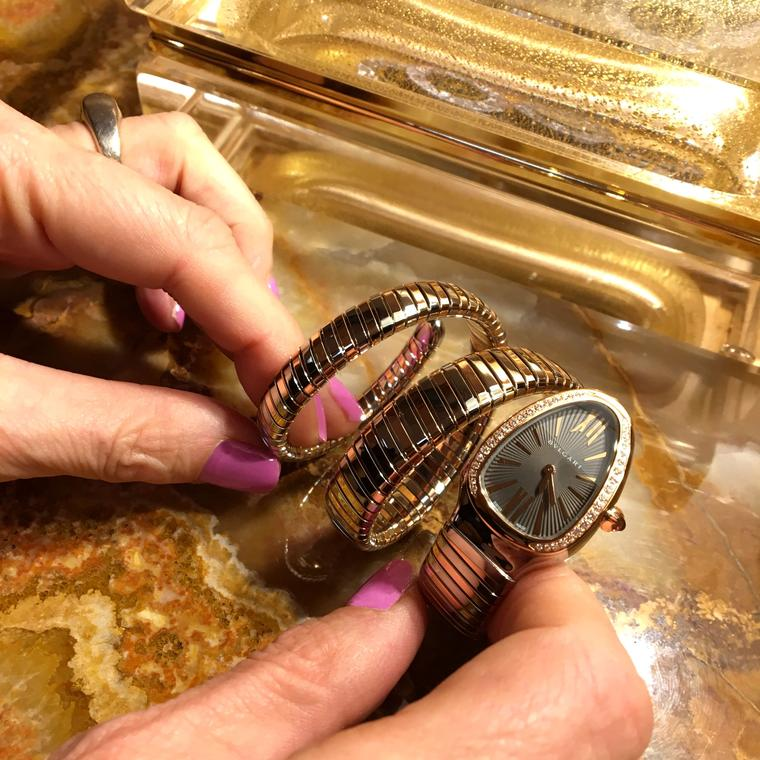 Getting hands on with the Bulgari Serpenti at the Bond Street store