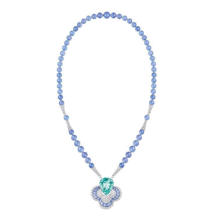 Louis Vuitton Blossom Beryl Chalcedony necklace