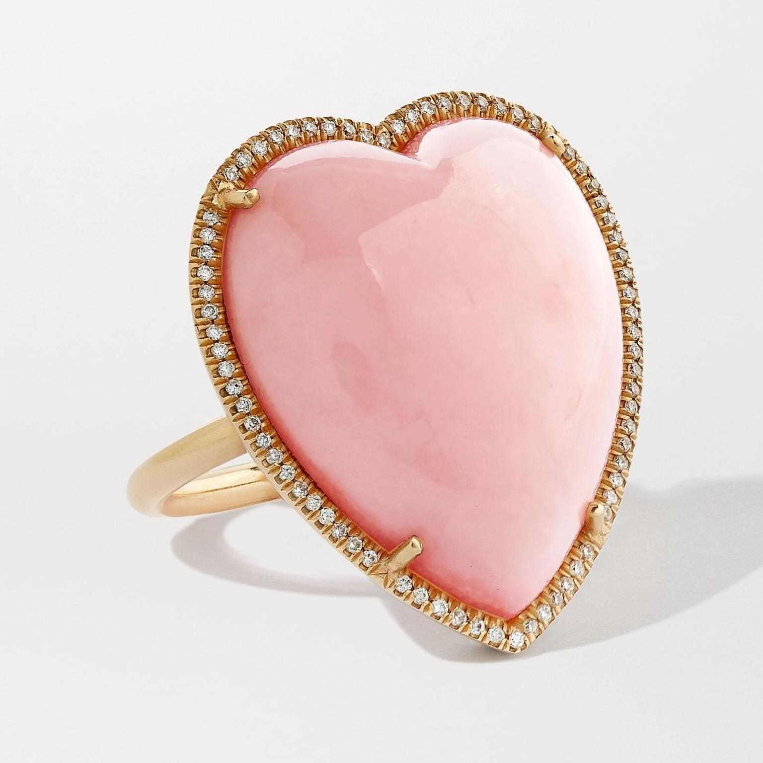 Love opal ring by Irene Neuwirth