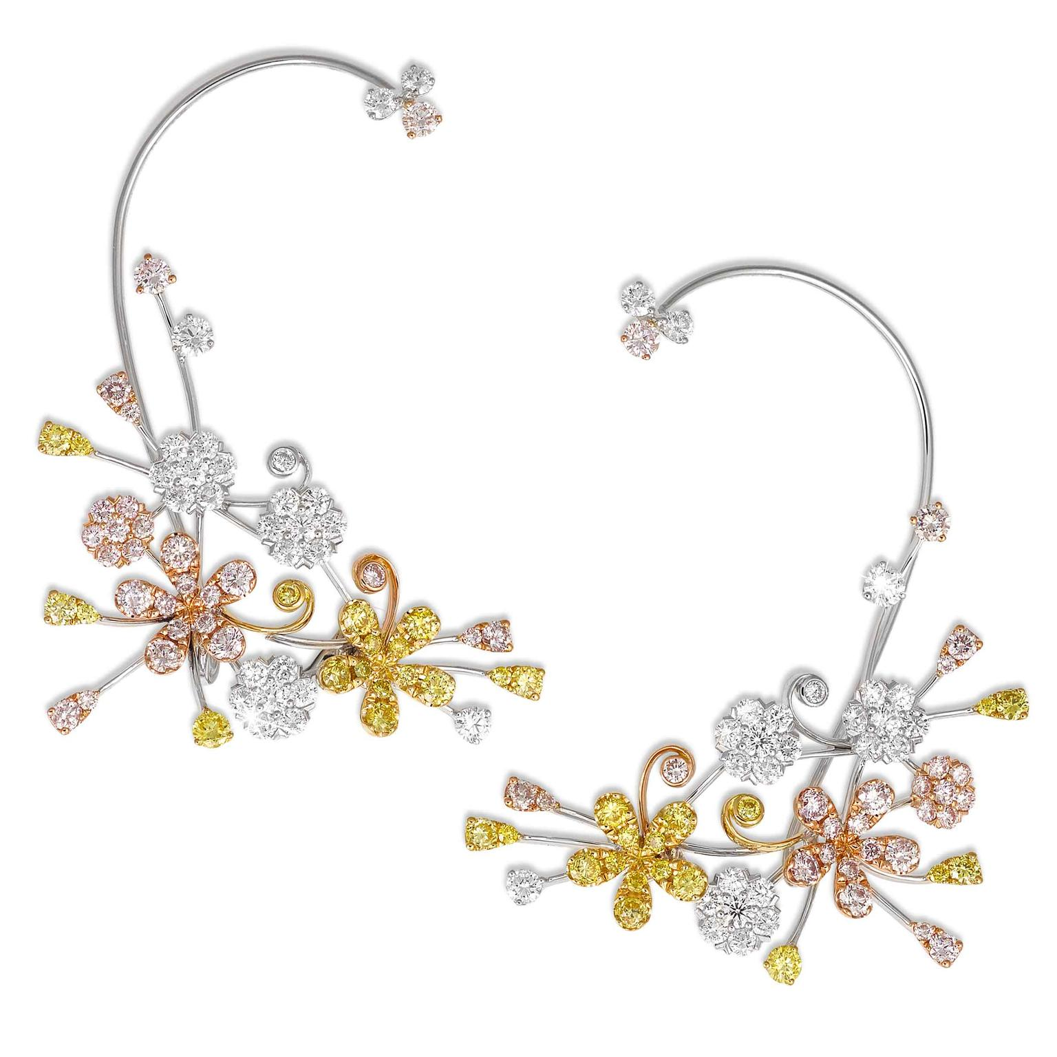 Cherry Blossom ear cuff from David Morris