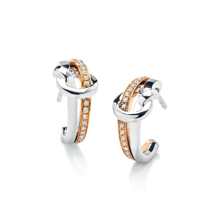 Boodles Knot earrings